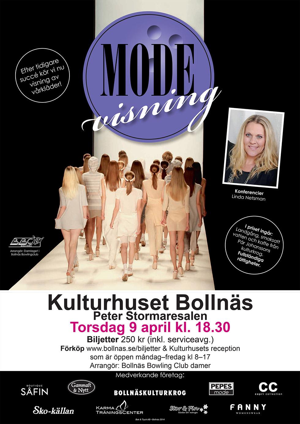 Modevisning Kulturhuset Bollnäs